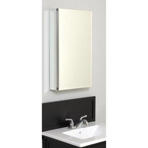 Zenith MRA1526 Aluminum Beveled Mirror Medicine Cabinet
