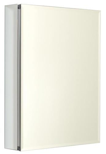 Zenith MRA2026, Beveled Mirror Medicine Cabinet, 20-Inch, Frameless