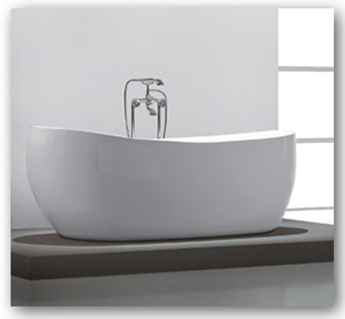 """59"""" Aqua Vida Free Standing Soaker Bath Tub"""