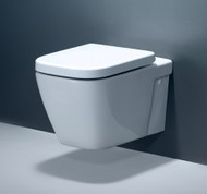 Caroma Invisi Series II Cube Wall Mount Toilet Complete