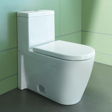 2 in one toilet seat. duravit starck 2 one-piece toilet bowl in one seat