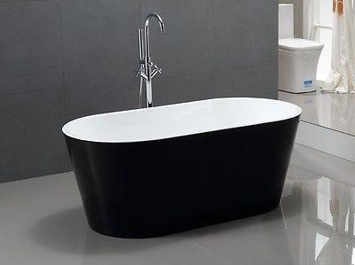 Chicago 63 Freestanding Bath Tub York Taps