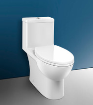 "Caroma Caravelle One Piece Comfort Height Toilet White 10"" 12"" Rough"