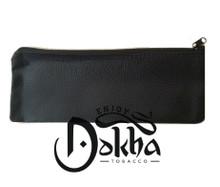 Black Leather Dokha Pouch