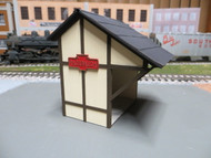 Laser Cut PRR Passenger Shelter Model Kit O scale