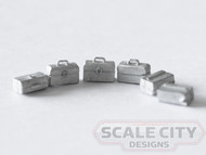 48-654 SMALL TOOL BOXES HAND CARRY O SCALE FKA KEIL LINE