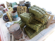 48-5023 Square Hay Bales O Scale ON3 Farm Diorama Resin Details