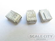 48-720 US Mail Box Mailbox Post or wall mount O scale FKA Keil Line