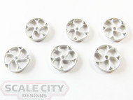 48-405 Small Brake Wheels O Scale FKA Keil Line