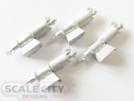 48-337 Brake Cylinders Type K Freight O Scale FKA Keil Line