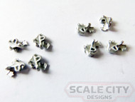 48-743 Hopper Door Latches O Scale FKA Keil Line