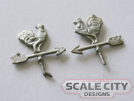 48-1291 Rooster Weather vane O Scale FKA Keil Line
