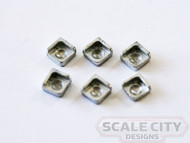 48-688 Dental Bowls Corner Style O Scale FKA Keil Line