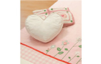 MyLC Forget Me Not - Heart Shaped Cushion
