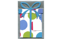 Present W/Spotty Pattern Gift Card