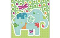 Little Chipipi Eco Greeting Card - Elephant Walk