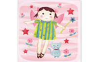 Little Chipipi Playtime Greeting Card - Fairy & Stars