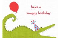 Snappy Birthday Card