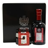 GIFT BOX: 50gr. Black Balsamic Pearl & 100ml. Black Balsamic Condiment