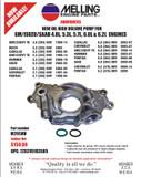 Melling High Volume Oil Pump LS Engine Family M295HV