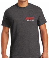 Herbert Cams T-Shirt Charcoal Grey / Front View
