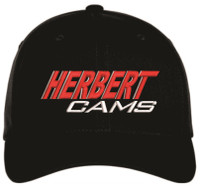 Herbert Cams Hat - Black/Front view