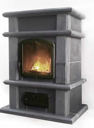 Sonne Budget Soapstone Fireplace