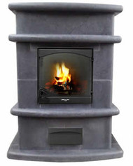 Vision Budget Soapstone Fireplace