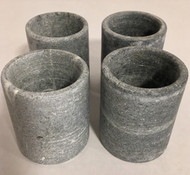 Soapstone Shot Glasses - Set of 4