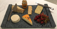 Large Soapstone Thermal Appetizer Platter