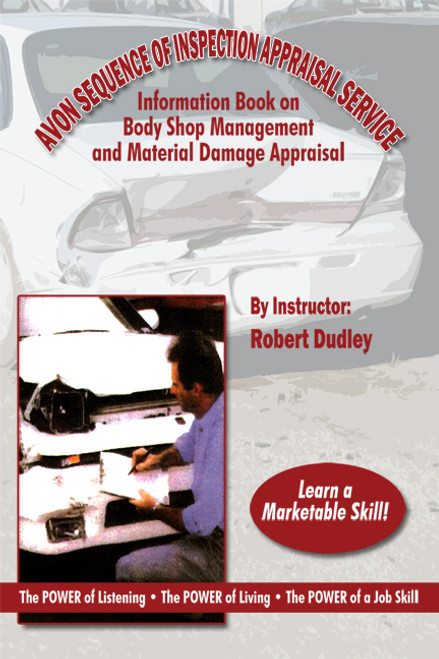 Avon Sequence of Inspection Appraisal Service Information Book on Body Shop Management and Material Damage Appraisal