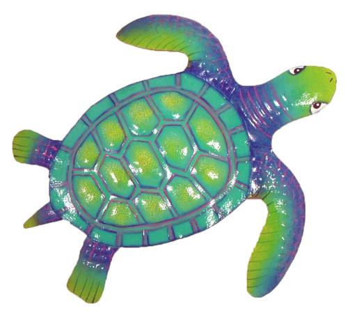 Baby Sea Turtle Nursery Kid Decor Haitian Metal Art