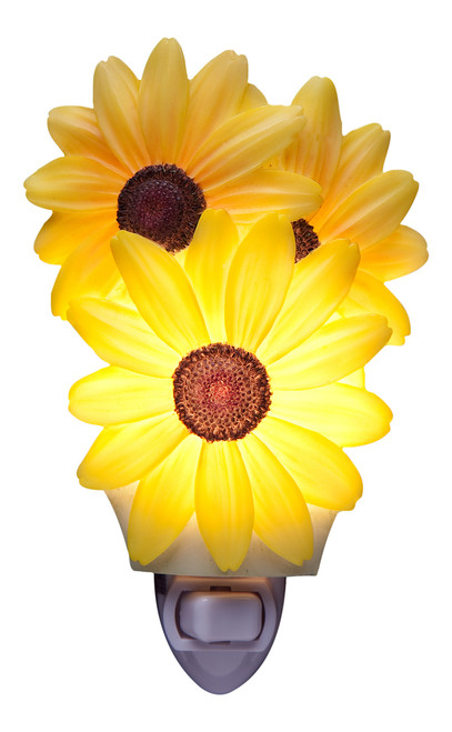 Spring Bouquet Black Eyed Susan Night Light Ibis and Orchid Design