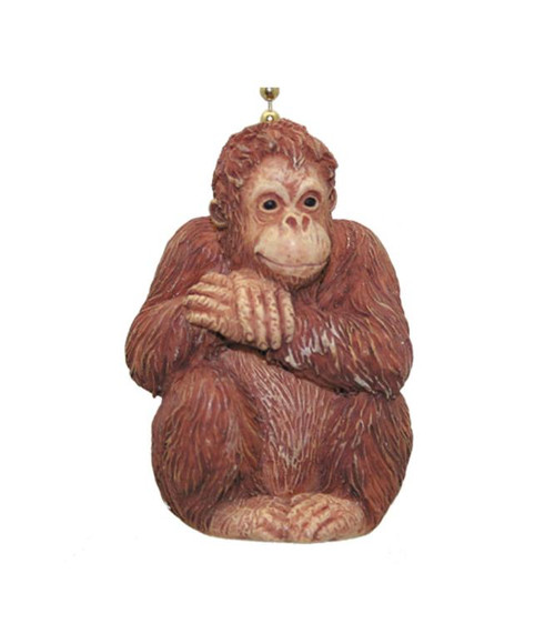African Primate Jungle Orangutan Ape Fan Light Pull