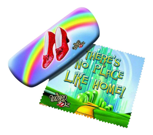 Wizard of Oz Ruby Slippers Reading Glasses Case and Lens Cloth