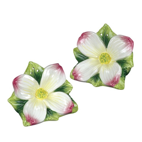 Blooming Tree Spring Dogwood Salt and Pepper Shakers Set