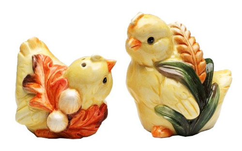 Baby Chicks Farm Animals Salt and Pepper Shakers
