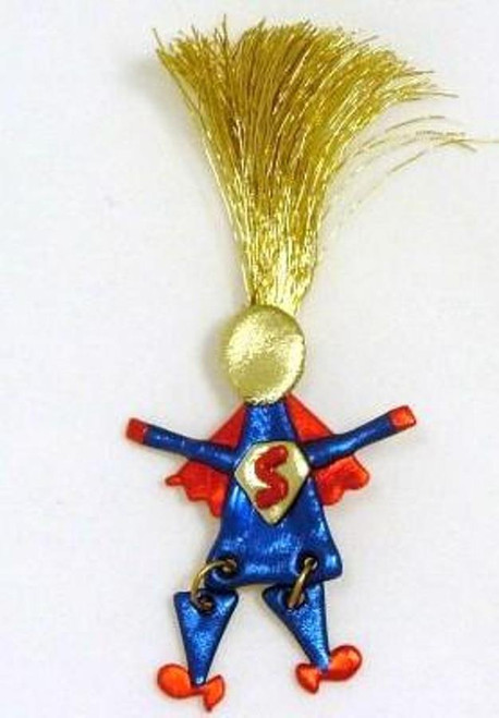 Super Superwoman Mom Wild Woman Pin