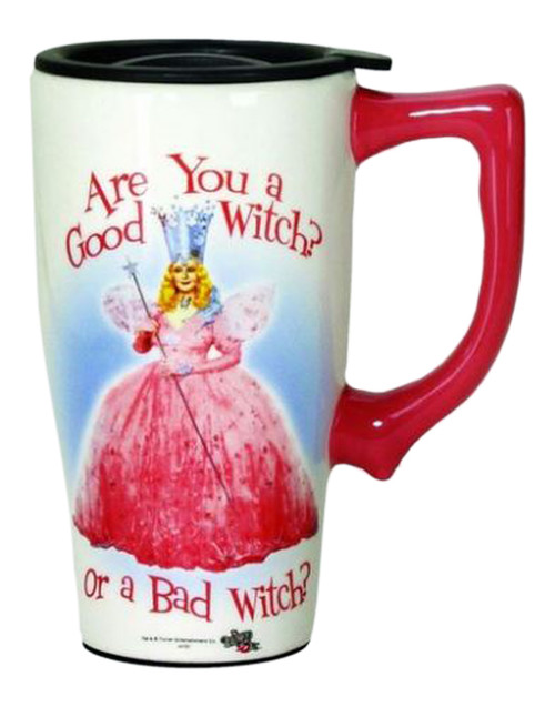 Are You a Good or Bad Witch Wizard of Oz Coffee Travel Mug