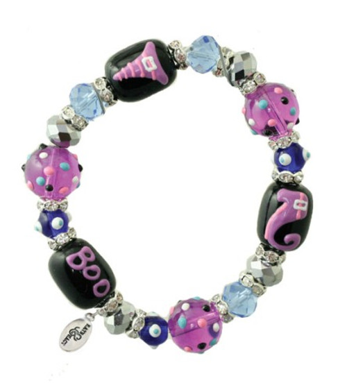 Witchy Witch Woman Halloween Kate and Macy Stretch Bracelet