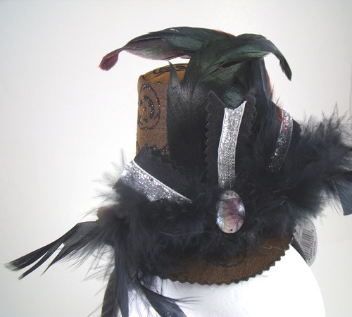 Halloween Glamour Feathers Headband Fashion Hair Costume Accessory