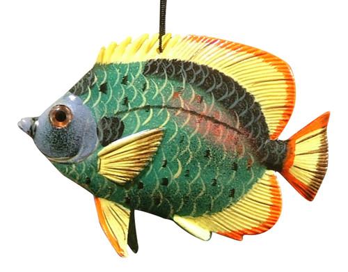 Carribean Sea Tiki Tropical Opaleye Fish Ornament TFO13 4 Inch