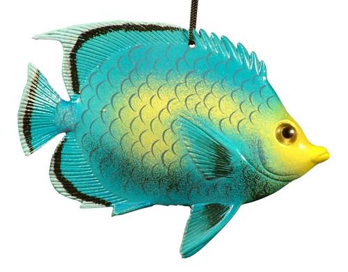 Carribean Sea Tiki Tropical Parrot Fish Ornament 6 inch ORN18