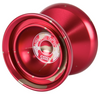 Duncan Windrunner Yoyo red with gold splash