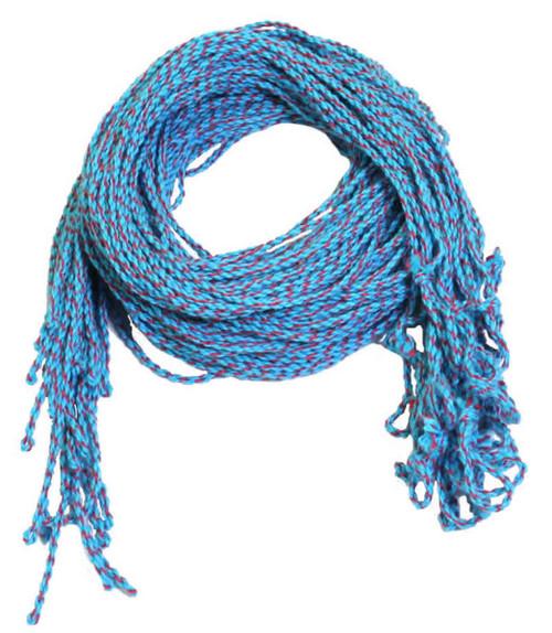 25 Cotton Blue & Red Yoyo Strings Type 6