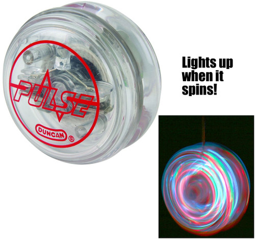 Duncan Pulse yoyo light up shown in action