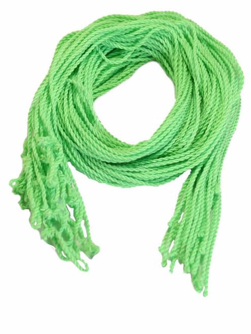 25 Green Polyester Yoyo Strings Type 6