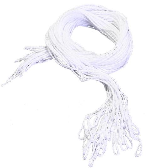 25 White Polyester yoyo strings Type 6