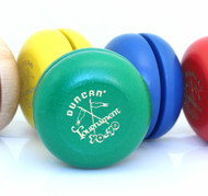 Duncan Retro Tournament Wooden yoyo with Case and Book