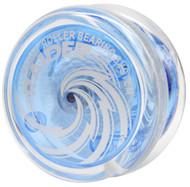 Raider yoyo clear blue